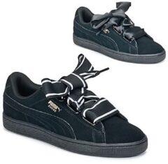 Zwarte Puma - 364084 - Sneaker laag sportief - Dames - Maat 42 - Zwart - 01 -Puma Black/Puma Black