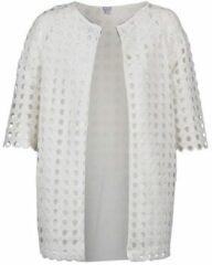 Witte Mantel Brigitte Bardot BB44197