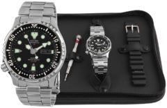 Zwarte Citizen Promaster Diver - Horloge - 42 mm - Zilverkleurig / Zwart - Automatisch uurwerk
