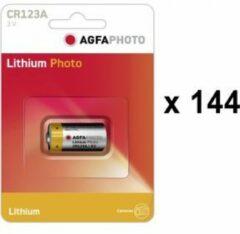 AgfaPhoto CR123 CR123A Fotobatterij Lithium 1300 mAh 3 V 1 stuk(s)
