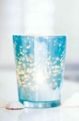 Riviera Maison - Happy Hamptons Votive (M) turquoise - Votive - Turquoise