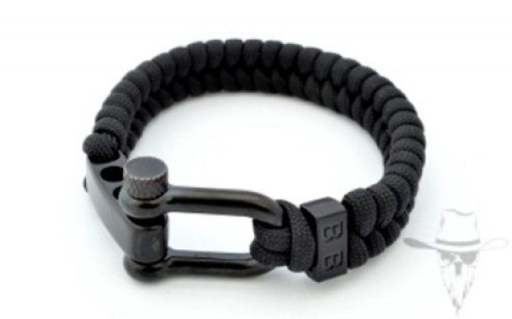 Afbeelding van Bad-Ass ParaCord Essentials Black - 20cm