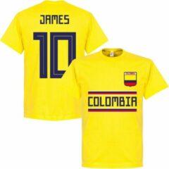 Gele Merkloos / Sans marque Colombia James Team T-Shirt - XL