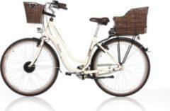 E-City ER 1804, Pedelec + Fischer die fahrradmarke Minipumpe + NIGRIN Reifendicht Vorteils-Set, Reparaturset