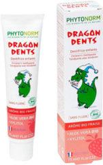 Phytonorm Dragondent kind tandpasta aardbei 75 Milliliter