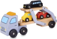 Wooden Toys Classic World Wooden Car Transporter
