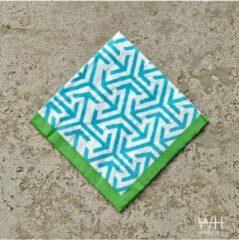 Blauwe Papieren servetten 240 stuks van het merk Windy Hill - 12x20 stuks