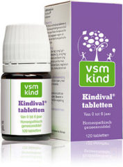 VSM Kind Kindival tabletten 0-6 jaar- 120 stuks