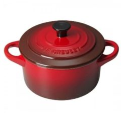 Le Creuset 71901100600100 steelpan 0,25 l Rond Rood