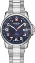 Zilveren Swiss Military Hanowa - Swiss Made - herenhorloge Swiss Grenadier 06-5330.04.003