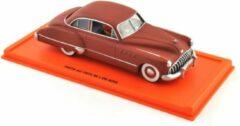 Buick Roadmaster 1949 Kuifje en het zwarte goud 1:43 Rood Moulinsart Edition Atlas
