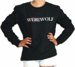 Zwarte Addmyberry - Trui - Werewolf - Medium