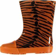 Xq Footwear Regenlaarzen Tijger Junior Rubber Oranje Maat 28