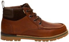 TOMS Men's Hawthorne Waterproof Leather Boots - Peanut Brown - UK 9 - Brown