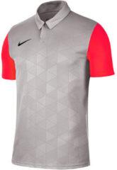 Grijze Polo Shirt Korte Mouw Nike Trophy IV Jersey