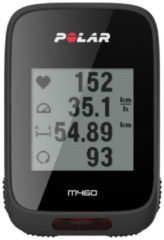 Polar M460 - Fietscomputer - GPS/Bluetooth Smart - Zwart