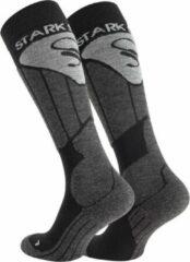 Antraciet-grijze VCA-Textil STARK SOUL | Performance Ski Socks | Skisokken | Warme sokken | Skieen | Wol | Lang | 39-42