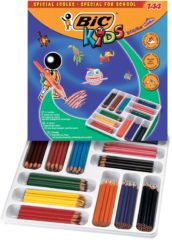 Kleurpotlood Bic kids ecolutions evolution 144 potloden (classpack)
