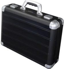 Juscha Laptop koffer Alumaxx Venture aluminium zwart mat