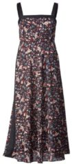 Maxikleid mit City Lights Print MICHALSKY Berlin for HappySize Multicolor