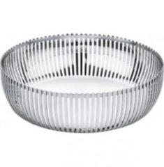 Roestvrijstalen Alessi PCH02 - Corbeille à agrumes acier inoxydable/brillant/Taille 2/à 23cm