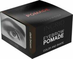 INGRID Cosmetics Eyebrow Pomade Dark Brown #202 Waterproof