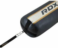 Zwarte RDX Sports RDX Bokszak Ankerriem voor de vloer