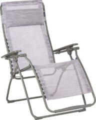 Roze LAFUMA FUTURA - VLNEO - Relaxstoel - Traploos Verstelbaar - Inklapbaar - Zero Gravity