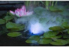Zilveren Ubbink Mistaker III LED Outdoor Vernevelaar