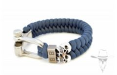 Bad-Ass ParaCord Blue - 19cm