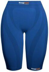 Knapman Ladies Zoned Compression Short 45% Royal Blauw | Compressiebroek (Liesbroek) voor Dames | Maat S