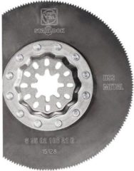 HSS Cirkelzaagblad 85 mm Fein 63502106210 Geschikt voor merk Fein, Makita, Bosch, Milwaukee, Metabo MultiMaster, SuperCut 1 stuks