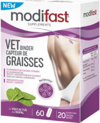 Modifast Vet Binder Afslanksupplement - 60 tabletten - vijgcactus