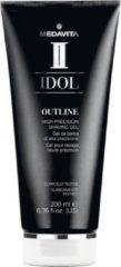 Medavita Idol Men Outline High-Precision Shaving gel, scheergel 200ml