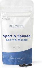 Flinndal Sport & Spieren (Voor sneller herstel en extra energie voor de spieren) - 90 Capsules - Flinndal - Met foliunzuur voor de energiehuishouding