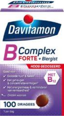 Davitamon vitamine B-Complex Forte met Biergist - 100 Tabletten