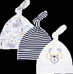 Babymuts set – Beren gestreept