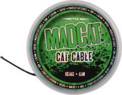 Zwarte Madcat Cat Cable - Dyneema - 1.35mm - 10m - 160kg