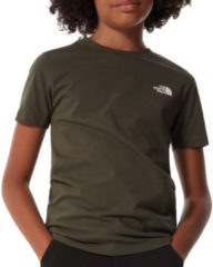 Groene The North Face Simple Dome Shirt Junior