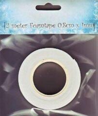 Nellie's Choice Nellie Snellen 9.03.11.001 foamtape voor 3D techniek - 2 m. van 8 mm x 1 mm - 1 rol