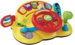 Gele VTech Baby Mijn Eerste Stuurtje - Speelpaneel