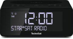 Antraciet-grijze TechniSat 0000/3914 radio Klok Digitaal Antraciet