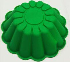 Blauwe Koozie.eu EIZOOKSHOP Taartvorm - silicone - 23.5 cm -met taartsnijder