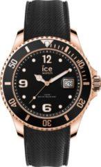 Ice-Watch Steel Ice-Watch ICE steel IW017327 Polshorloge - Siliconen - Zwart - Ø 48mm