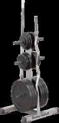 Body-Solid Standard Plate Tree&Bar Holder - 30 mm