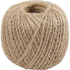 Creotime Natuurlijk hennep touw, dikte 2 mm, 180 m