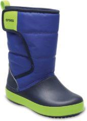 Blauwe Crocs LodgePoint Laarzen Kinderen, blue jean/navy Schoenmaat EU 33-34