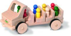 Nic houten speelgoed Omnibus, 8 Figuren