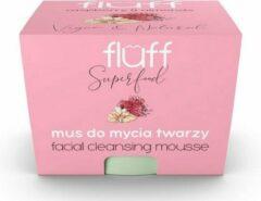 Fluff Facial Cleansing Mousse Mus Do Mycia Twarzy Malina & Migda? 50ml (w)