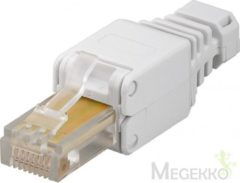 Wentronic Goobay CAT 5/6 RJ45 RJ45 Beige kabel-connector